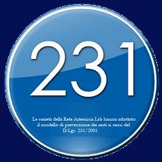 Le società della rete ArtemisiaLab hanno adottato il modello di prevenzione dei reati ai sensi del D. Lgs. 231/2001. Clicca sul logo per tutte le info