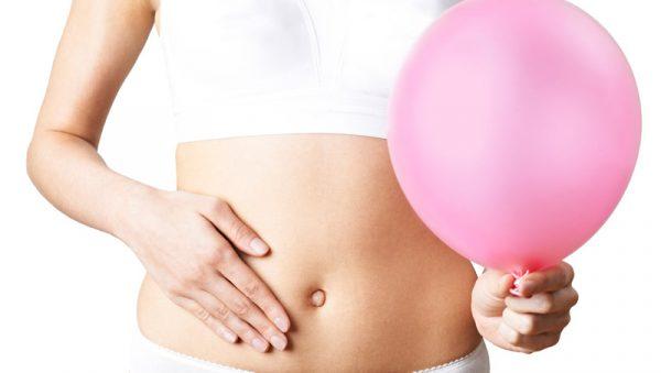 dieta del palloncino - ragazza con palloncino
