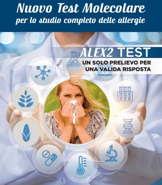 ALEX2 TEST - Nuovo test molecolare per lo studio completo delle allergie -