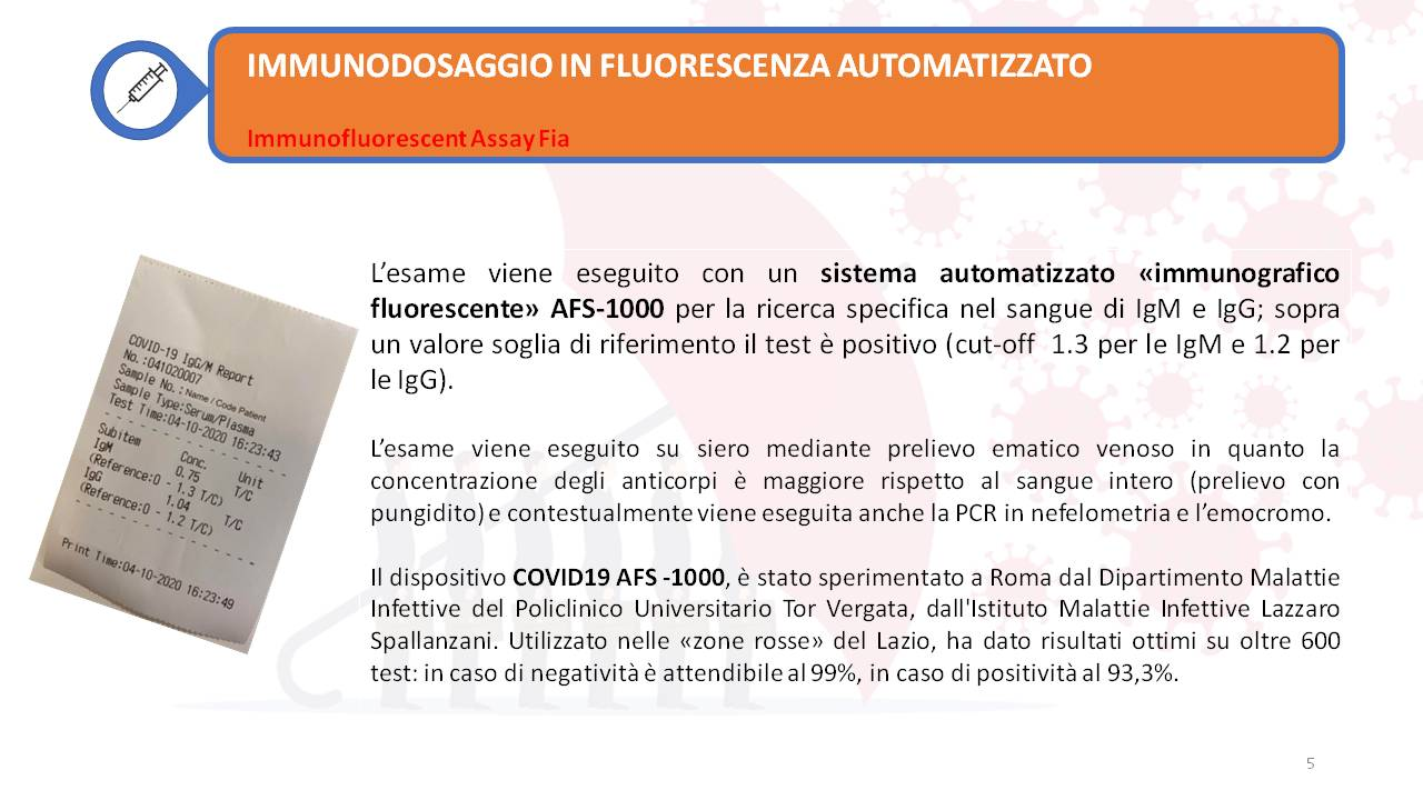 Progetto Ripartenza - Ricerca degli anticorpi IgM e IgG Covid 19 e rientro in azienda (5)